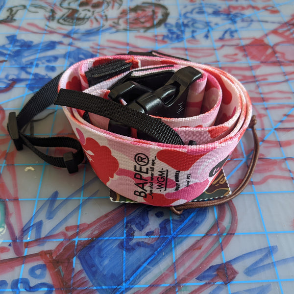 A Bathing Ape Bape ABC Wide Camera Strap
