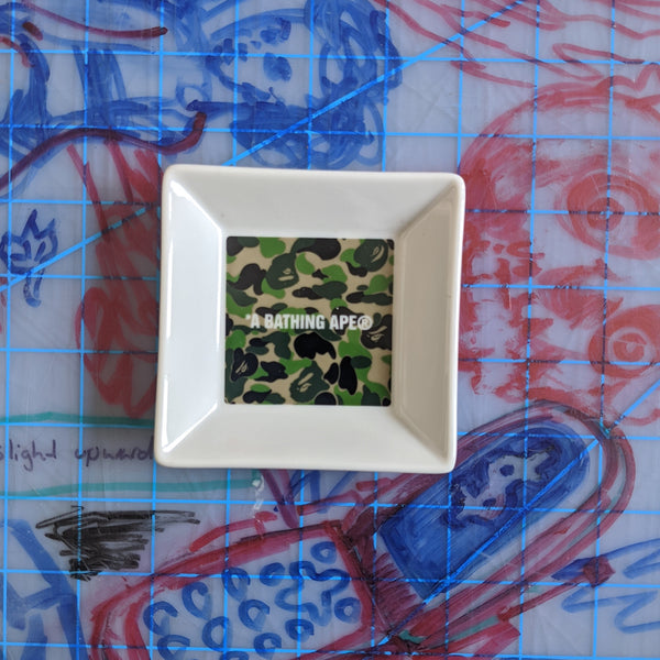 A Bathing Ape Bape Camo Ashtray
