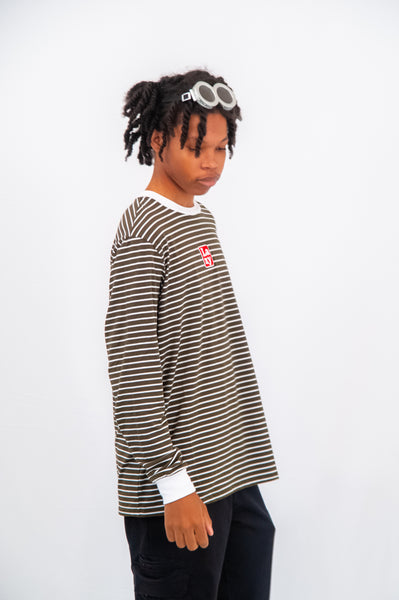 Lazy Oaf Stripe LS Tee