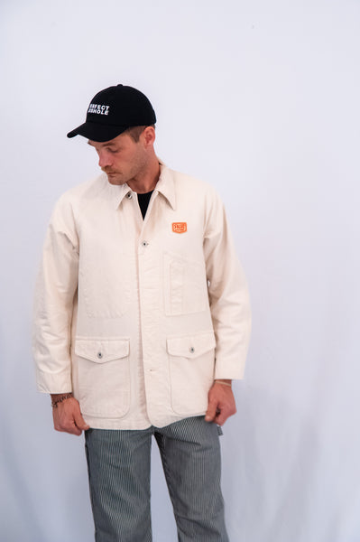 Pallet Life Story ECRU Denim Painter Jacket