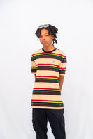 Lazy Oaf Burger Stripe Tee