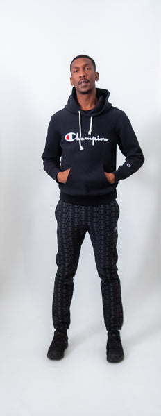 Champion Reverse Weave Logo Jogger Sweatpants