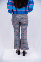 Lazy Oaf Check Kick Flare Pant