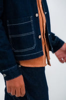 Wrangler Raw Edge Carpenter Jacket