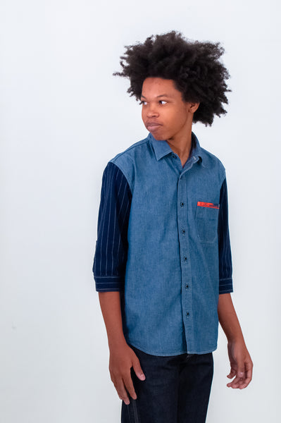 Pallet Life Story Denim Work Shirt