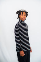 Lazy Oaf Stripy Turtleneck LS