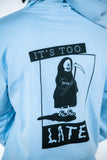 Lazy Oaf Too Late Hoodie Sweatshirt