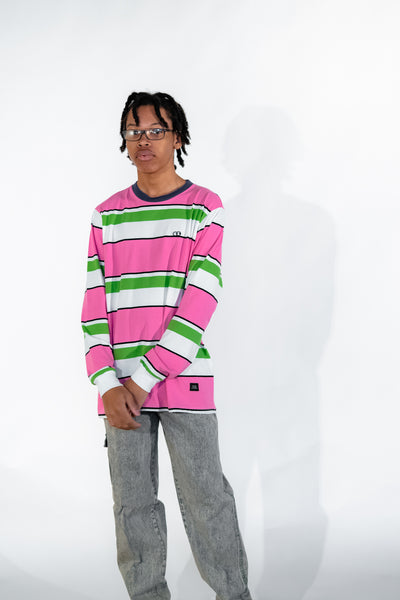 Lazy Oaf Stripped Long Sleeve T-Shirt