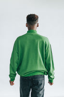 Lazy Oaf Taking No Orders Quarter Zip Sweatshirt