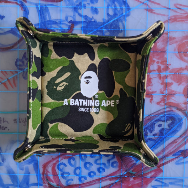 A Bathing Ape Bape ABC Camo Tray