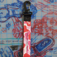 A Bathing Ape Bape ABC Strap Tag Lanyard