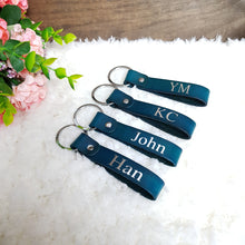 Load image into Gallery viewer, Classic Key Chain - Navy - The Blossom Gift