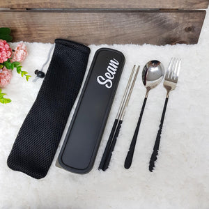 Utensils Set Stainless Steel - The Blossom Gift