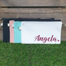 Load image into Gallery viewer, Personalised Canvas Pencil Case / Pouch - The Blossom Gift