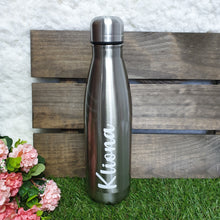 Load image into Gallery viewer, 'Bowling Pin' Vacuum Flask Water Bottle - WHITE - The Blossom Gift