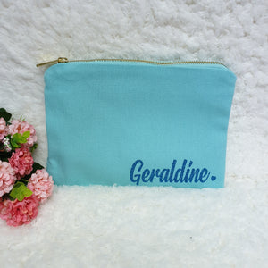 Canvas Pouch - The Blossom Gift