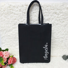 Load image into Gallery viewer, Personalised Canvas Bag (2 colours)