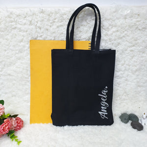 Personalised Canvas Bag (2 colours)