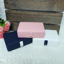 Load image into Gallery viewer, Personalised Travel Jewellery Box - The Blossom Gift