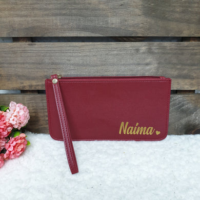 PU leather wristlet (4 colours available) - The Blossom Gift
