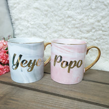 Load image into Gallery viewer, Bundle Set Pink and Grey Marble Mug - The Blossom Gift