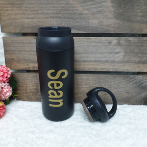 Personalised Tumbler w Handle - The Blossom Gift