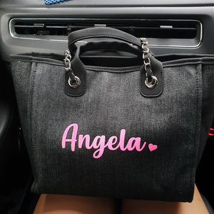 Personalised Chic Bag - The Blossom Gift
