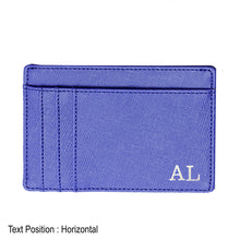 Load image into Gallery viewer, Card Holder 9 Slot - Blue - The Blossom Gift