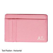 Load image into Gallery viewer, Card Holder 9 Slot - Pink - The Blossom Gift