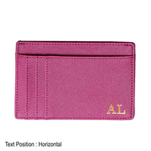 Load image into Gallery viewer, Card Holder 9 Slot - Purple - The Blossom Gift