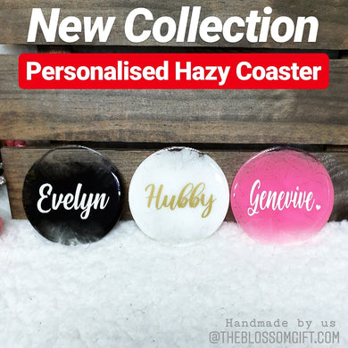 Personalised Hazy Coaster - The Blossom Gift