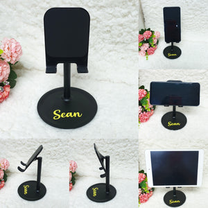 Personalised Phone Stand - The Blossom Gift