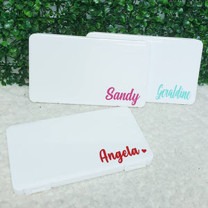 Personalised Mask Box / Pencil Box
