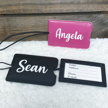 Load image into Gallery viewer, Personalised Luggage Tag - The Blossom Gift