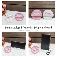 Load image into Gallery viewer, Pearly Phone Stand / Name Card Stand