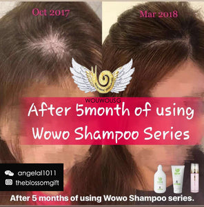 WOUWOU Hair Bundle Set - The Blossom Gift