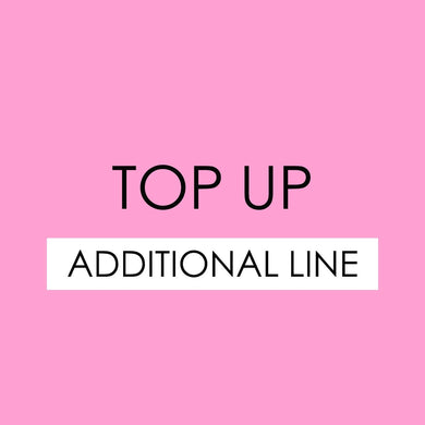TOP UP - Additional Line - The Blossom Gift
