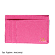 Load image into Gallery viewer, Card Holder 9 Slot - Hotpink - The Blossom Gift