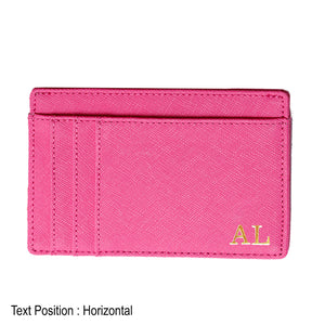 Card Holder 9 Slot - Hotpink - The Blossom Gift