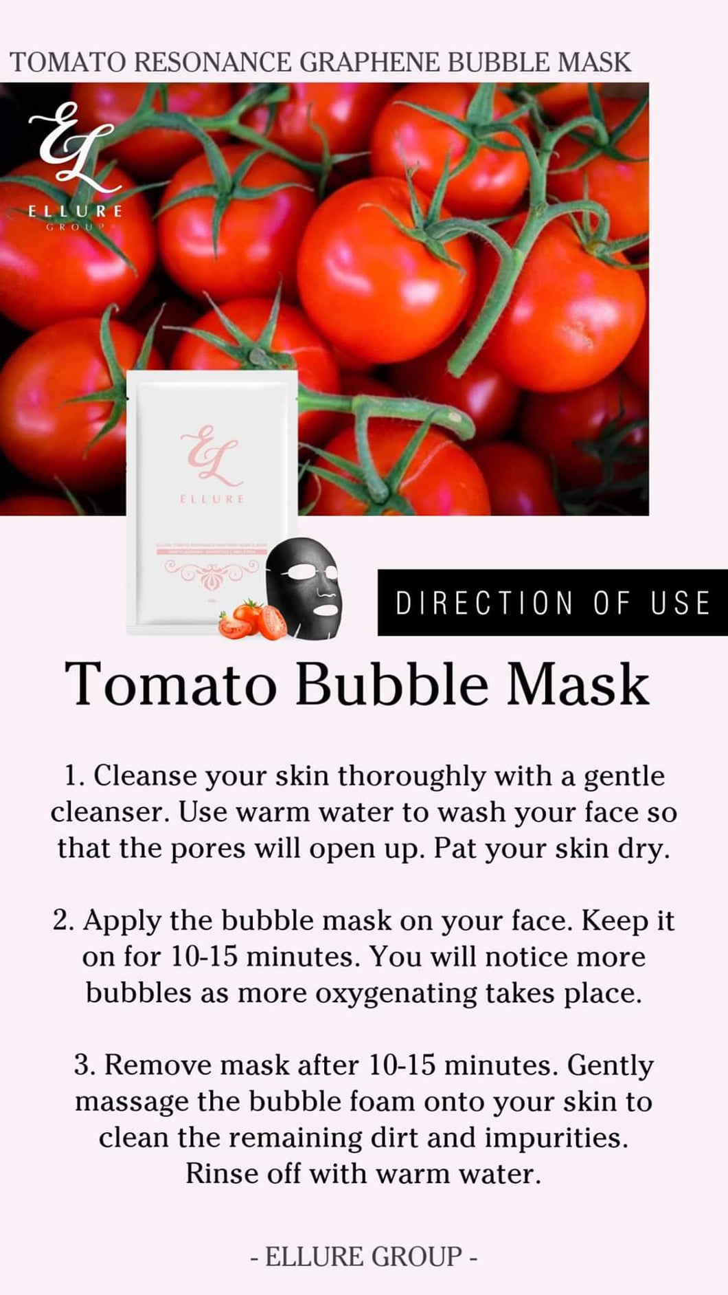How to use Ellure Bubble Mask - The Blossom Gift