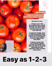 Load image into Gallery viewer, ELLURE TOMATO BUBBLE MASK DEEP CLEANSING FACIAL MASK - The Blossom Gift