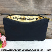 Load image into Gallery viewer, Canvas Pouch - The Blossom Gift