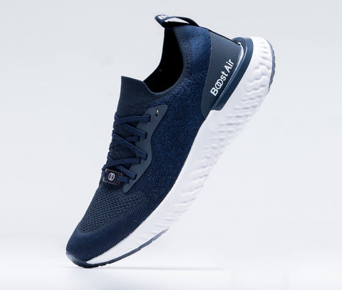 Tenis Para Hombre Deportivo Azul 0604H | Colombian Gymwear