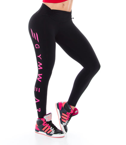 Leggins Supplex 8035F - colombiangymwear
