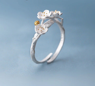 2Cheery Flower Ring