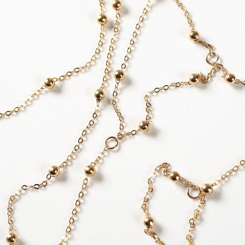 Gold Silver Color Body Chain