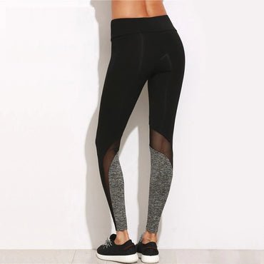 Fitness Femme Mesh Yoga Pants Tights Legging