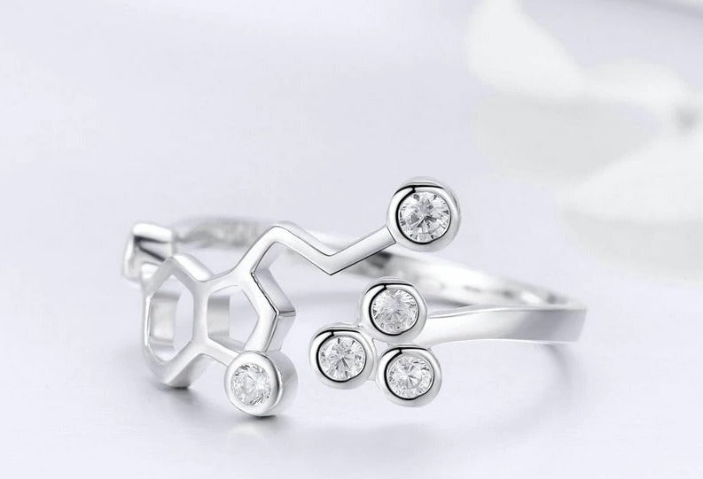 Honeycomb Adjustable Finger Ring