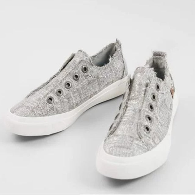 Fashion Denim Casual Shoes Sneakers