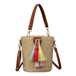 Leisure Simple Pure Color Single Shoulder Messenger Bags
